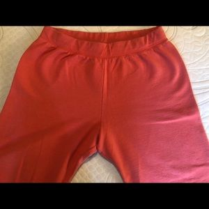 XL Peach Colored Hanes Sweats Gently Worn
